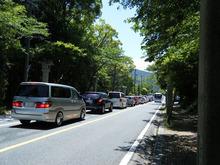 網のブログ-神宮の渋滞