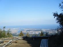 網のブログ-朝熊山