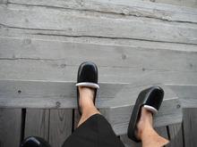 網のブログ-昔の靴