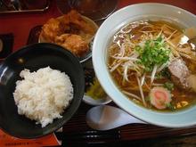 網のブログ-ラーメンから揚げ定食