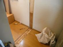 網のブログ-居間のドア