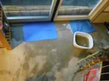網のブログ-ドアから水が入る