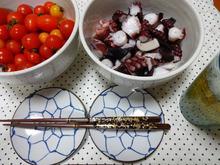 網のブログ-夕飯タコ