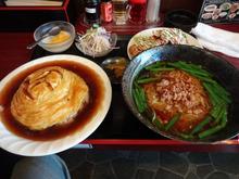 網のブログ-天津飯定食