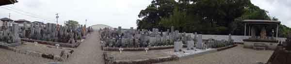 網のブログ-町営墓地
