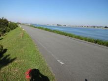 網のブログ-川原の道