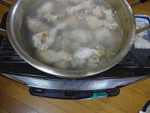 網のブログ-鶏のスープストック