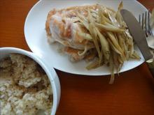 網のブログ-鶏ごぼうソテー