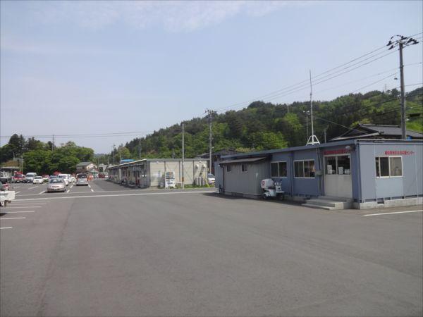 網のブログ-鵜住居の仮設商業施設群