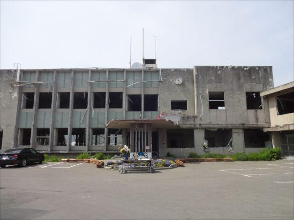 網のブログ-大槌町の震災被害復興状況