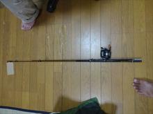 網のブログ-息子の釣道具
