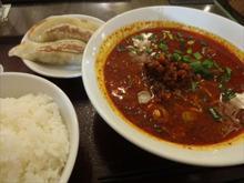 紅虎餃子房の麻辣坦々麺