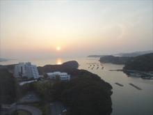 17階からの日の出