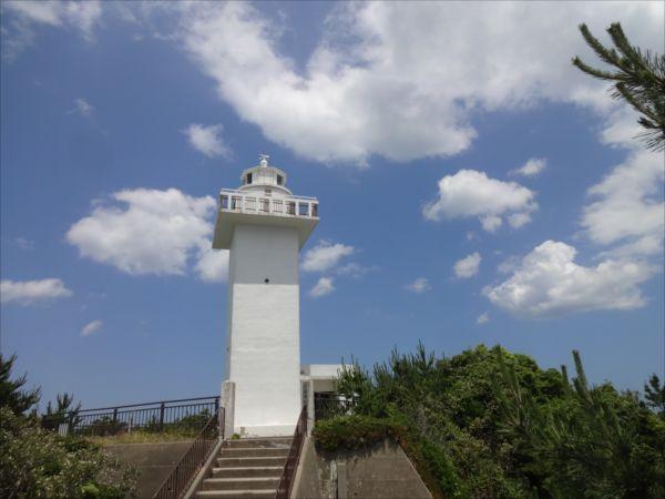 灯台一直線