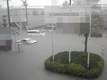 大雨の思い出