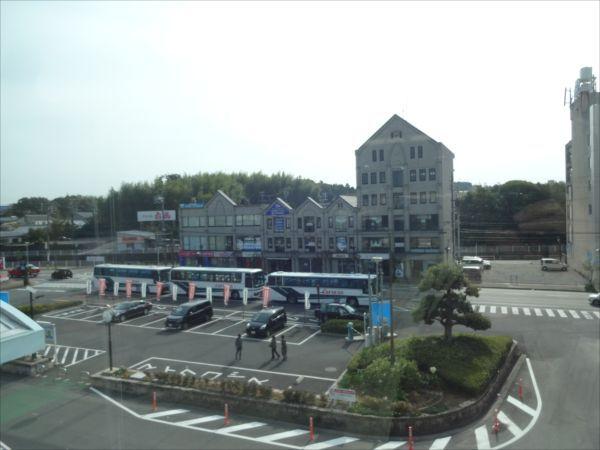 鵜方駅前ロータリー