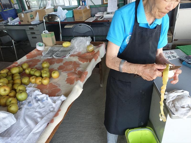 梨の直売所